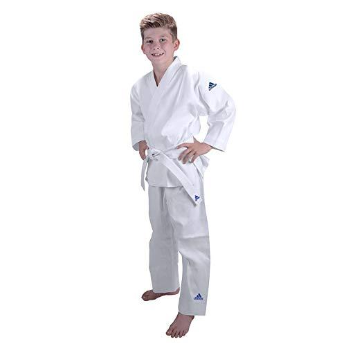 Adidas, uniforme per karate AdiSTART, da 200 g, White, 100 cm