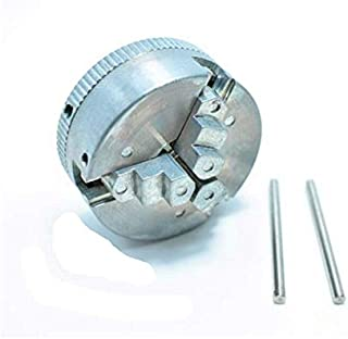 Three-Jaw Chuck,Clamping Diameter 1.8~56mm / 12~65mm,tread hole is M12X1, Z011 for mini lathe
