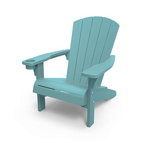Keter Alpine Adirondack Garden Chair Stuhl, blaugrün