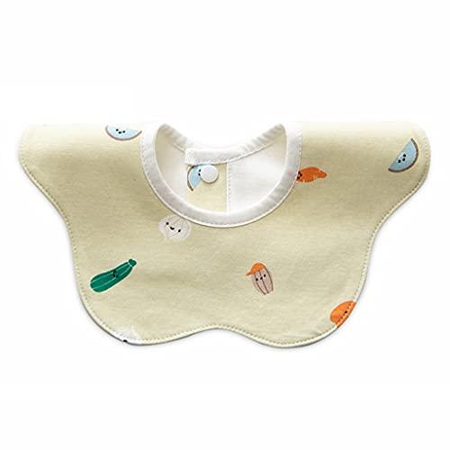 Frotox Baberos para bebés para niños y niñas, baberos para la dentición, baberos para niñas y niños, baberos para bebés, baberos de tela lavables a máquina para recién nacidos (7)