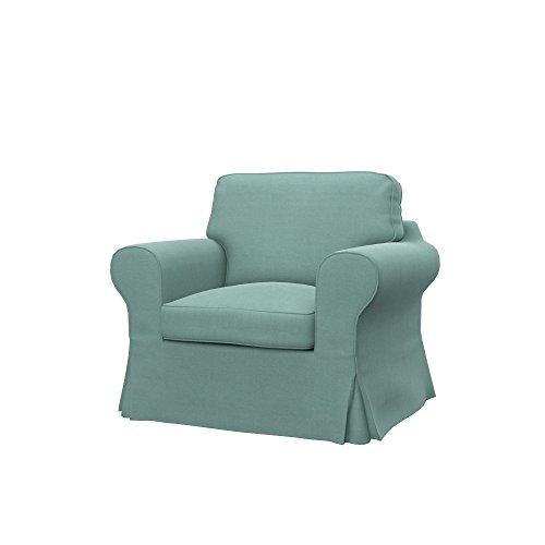 Soferia - IKEA EKTORP Funda para sillón, Elegance Mint