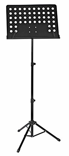 Fineway Heavy Duty Foldable Orchestral Sheet Music Stand Holder Adjustable Tripod Base