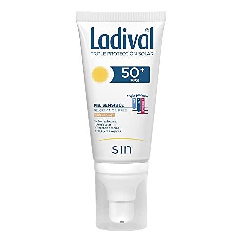 LADIVAL Crema solar para pieles sensibles con color FPS50+ - 50ml