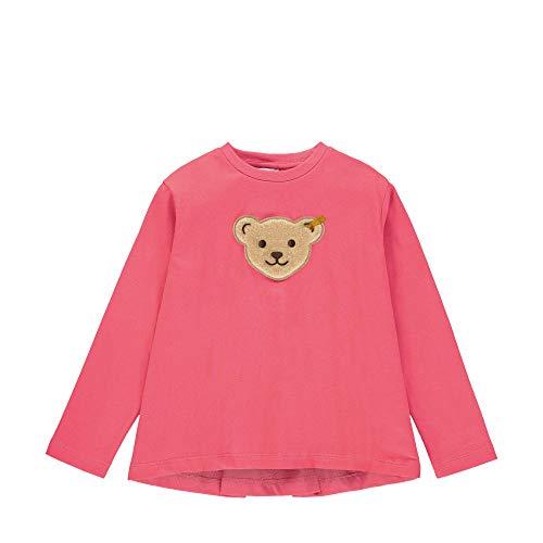 Steiff Baby-Mädchen Sweatshirt, Rosa (Fruit Dove 2203), 86 (Herstellergröße: 086)