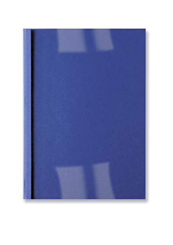 GBC Copertine Termiche Goffrate 3mm 100pz - Blu Royal - IB451010