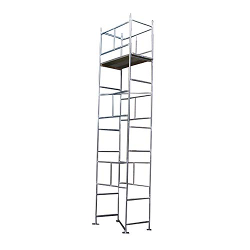 "Classic 6.3m (WH) DIY Galvanised Scaffold Tower (4'x 2'6"" Base)"