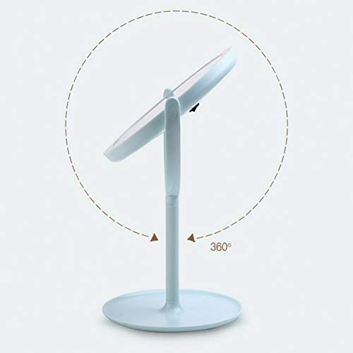 GKJRKGVF LED Make-up lamp Spiegel Nacht Licht Touch Sensor Schakelaar Verstelbare Helderheid Vanity Compact Make-up lamp