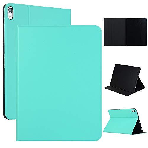 GHC Pad Fundas & Covers para iPad Pro 11inch 2018, Tableta de Cuero PU Smart Case Auto Wake/Sleep Dobling Soporte Protector SHELE Shell Flip Soport Piel para iPad Pro 11 Pulgada 2018