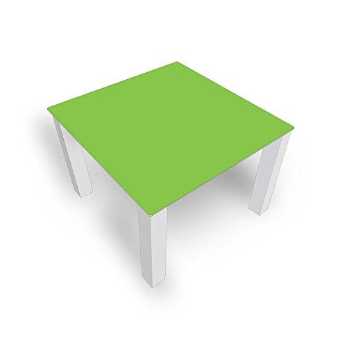 DekoGlas Table Basse en Verre uni Vert FMK-45-063 45 cm de Haut – Table avec Plateau en Verre 80 x 80 cm 100 x 100 cm 90 x 55 cm 112 x 67 cm 120 x 75 cm