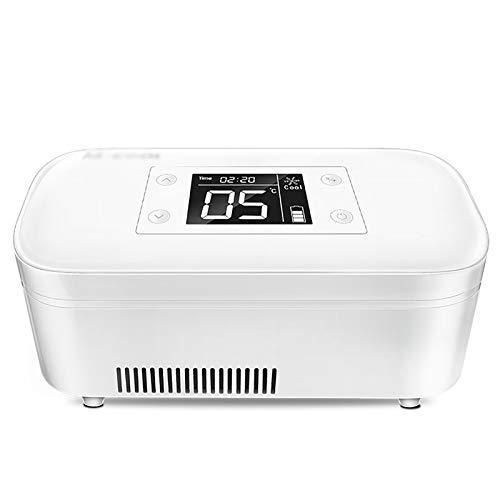 6800mAh Batería incorporada Mini portátil Insulin Reefer Caja de almacenamiento en frío Enfriador de insulina Caja refrigerada, para mantener el refrigerador de medicamentos para la diabetes alreded