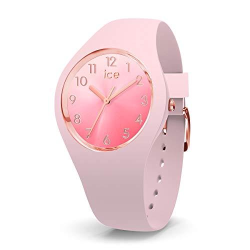 Ice-Watch - ICE sunset Pink - Rosa Damenuhr mit Silikonarmband - 015747 (Medium)