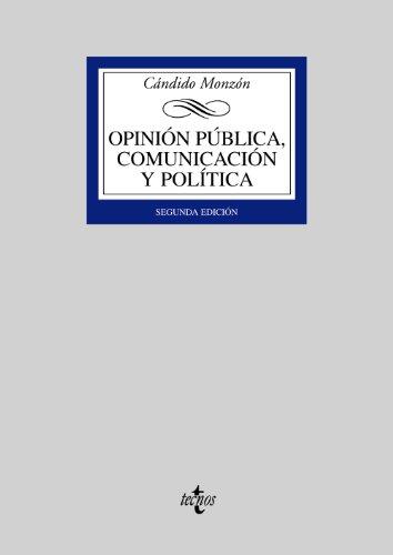 Opinión pública, comunicación y política (Derecho - Biblioteca Universitaria de Editorial Tecnos)