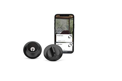 Level Lock - Touch Edition, Keyless Entry Using Touch, a Key Card, or Smartphone. Bluetooth Enabled, Works with Alexa, Ring and Apple HomeKit - Matte Black