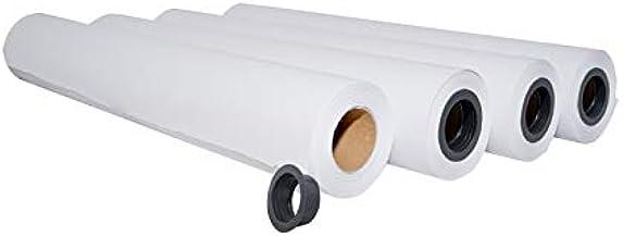 palucart® Papel Plotter 61 x 50 cm 90 gr m² cartón de 4 rollos Plotter: Amazon.es: Hogar