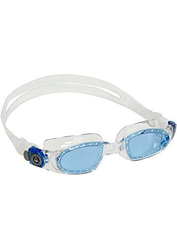 Aqua Sphere Mako 2 Gafas de natación, Unisex niños, Cristal Azul y...