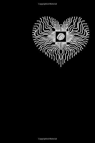Notizbuch: Elektrischer Chipsatz der Prozessor Gehirn Verarbeitungseinheit Notizbuch DIN A5 120 Seiten für Notizen, Zeichnungen, Formeln   Organizer Schreibheft Planer Tagebuch