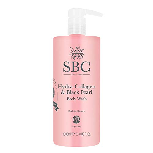 SBC Hydra Collagen & Black Pearl Body Wash - 1Liter
