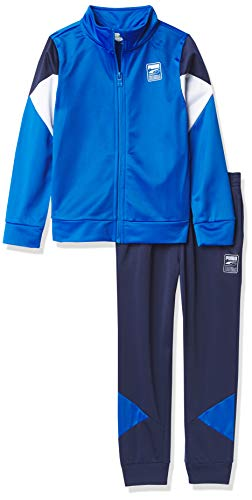 PUMA Chaleco y pantalón para Chicos, Azul Brillante, 4