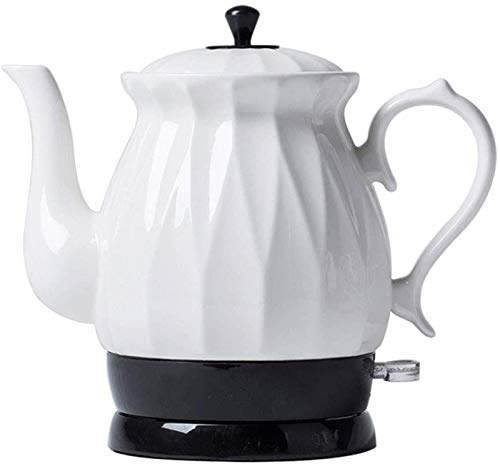 Vite, Céramique bouilloire électrique, sans fil d'eau Teapot 1,7 litre, sans fil automatique de mise hors tension rapide ébullition, rapide Brew thé, soupe café, Bureau, style vintage