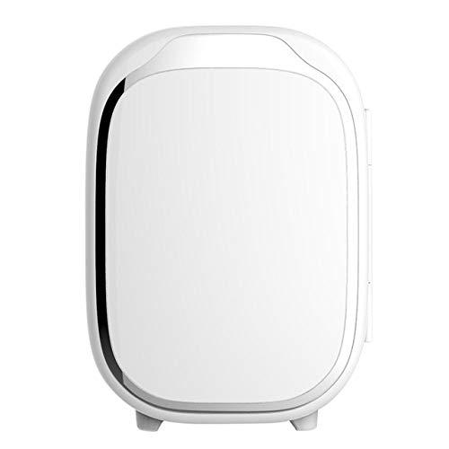 Mini Nevera XYBB Mini refrigerador refrigerador eléctrico 6l caja fría fría mini refrigerador pequeño para automóvil y familia viajes al aire libre 20.7 * 26.2 * 29 cm blanco