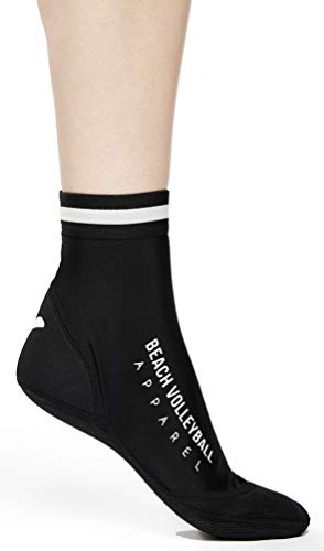 Beach Volleyball Apparel Beachsocken Beachvolleyball Neopren Sandsocken (Schwarz, 38-41 (M))