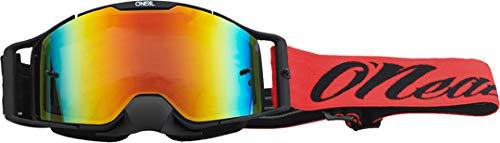 O'NEAL B30 Reseda Goggle MX DH Brille schwarz/rot/Radium rot Oneal