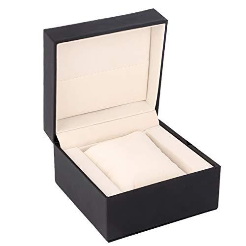 Yeeco - Caja de regalo para reloj, color negro