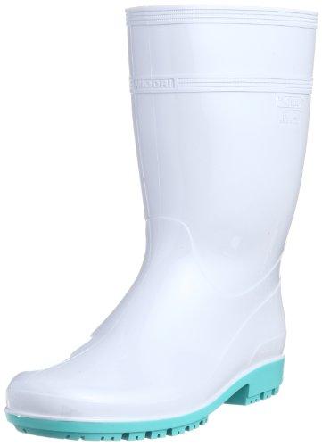 [ミドリ安全] 作業長靴 耐滑 耐油 耐薬 脱環境ホルモン ハイグリップ HG3000 N スーパー メンズ ホワイト 28.0(28cm)