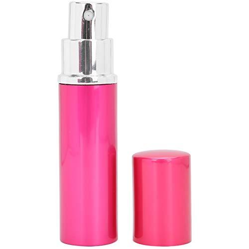 Botella de spray de perfume, botella de perfume elegante recargable reutilizable, conveniente para fiestas, acampadas para niñas, viajes al aire libre para mujeres(rose Red)