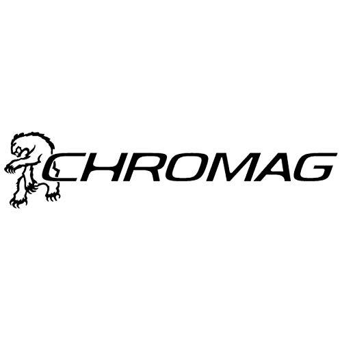 CHROMAG BZA - Percha para Bicicleta de montaña, MTB, Ciclismo, VAE, E-Bike para Adulto, Unisex, Negro, Naranja, 35 mm, 15 mm, rese 800 mm