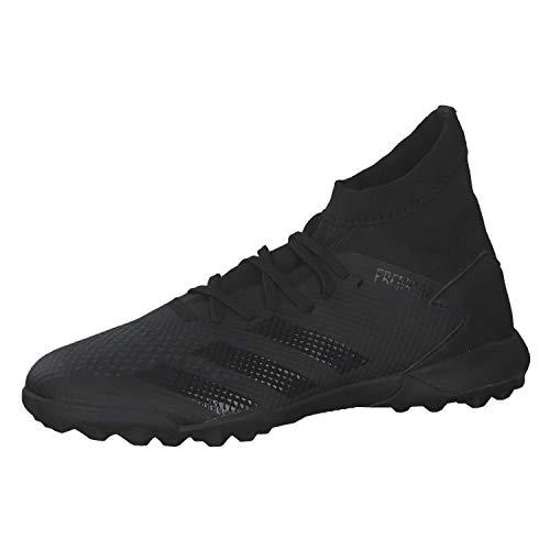adidas Predator 20.3 TF, Zapatillas Deportivas Hombre, Core Black/Core Black/DGH Solid Grey, 42 EU
