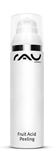 RAU Fruit Acid Peeling 100 ml - Migliore buccia anti-età per il viso - Scrub con acido mandelico, lattobionico, salicilico e lattico - Esfoliante deli
