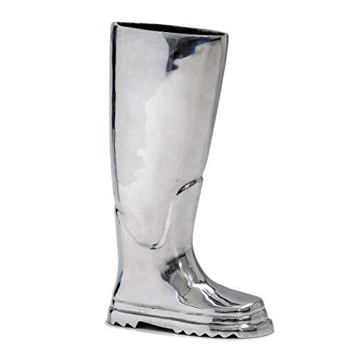 Pureday Regenschirmständer in Stiefelform, aus Aluminium