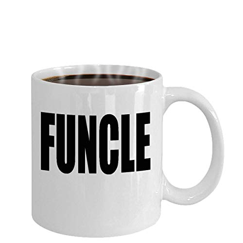 N\A Taza Funcle Funny Uncle Gift Pride