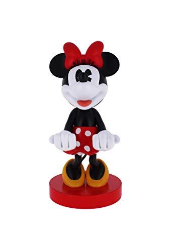 Exquisite Gaming - Cable guy Minnie Mouse, soporte de sujeción y/o carga para mando de consola y/o smartphone de tu personaje favorito con licencia de Disney (Xbox Series X)