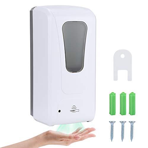 Coolty Automatisch Desinfektionsspender, 1000ML Berührungslose Automatische Sprühen Desinfektionsspender, Seifenspender Wandbefestigung mit IR-Sensor für Küchen Badezimmerkrankenhäuser