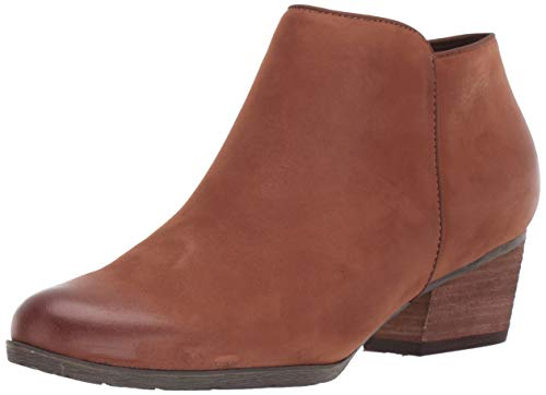 Blondo Women's Villa Waterproof Ankle Boot, Cognac Nubuck, 7.5 M US