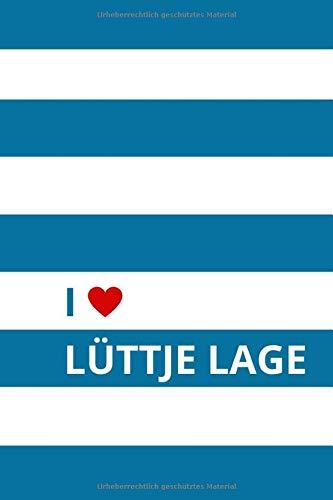 Lüttje Lage: Notizbuch · Hannover · Geschenkidee für Biertrinker