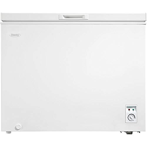 7.0 cuft Chest Freezer, 1 Basket, Up Front Temperature Control