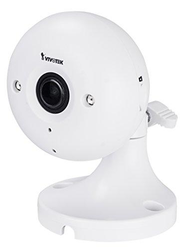 VIVOTEK IP Cube Kamera | Netzwerk Überwachungskamera Indoor | Wireless Lan | 2,8 mm Fixfokus-Objektiv