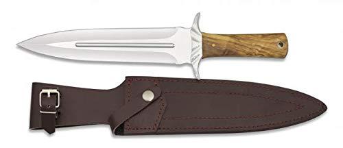 A Cuchillo Rematador Caza Mango Olivo