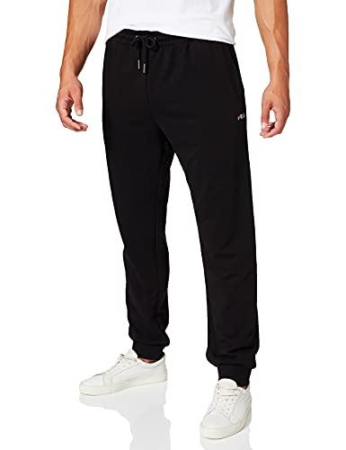 Fila Herren MEN WILMET sweat pants Sporthose, Schwarz (Black 2), S