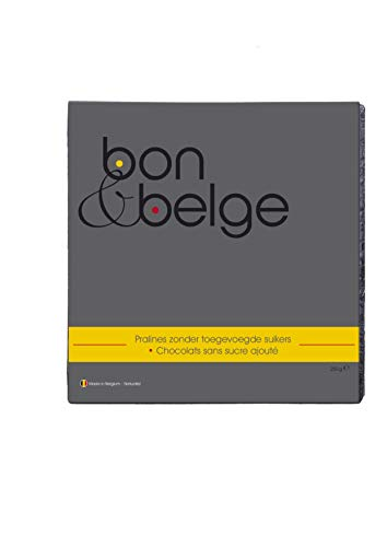 Belgische Pralinen Zuckerarm handgemacht mit Schokolade aus Belgien 220 g