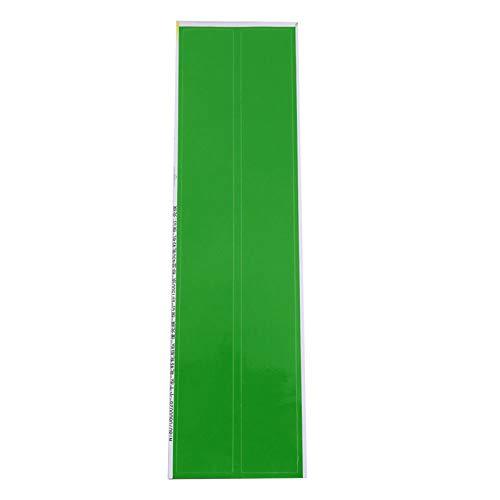 SALUTUYA Hecho de Adhesivo de Flecha de Pegamento para neumáticos Fácil de almacenar y Usar Caracterizado por Superficie Lisa y Alta viscosidad de 5 Colores,(Green)