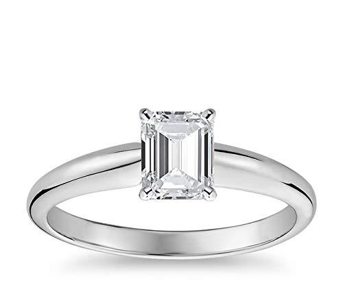 Anillos De Compromiso Oro Blanco Y Diamantes Precios marca Pritvi Jewels