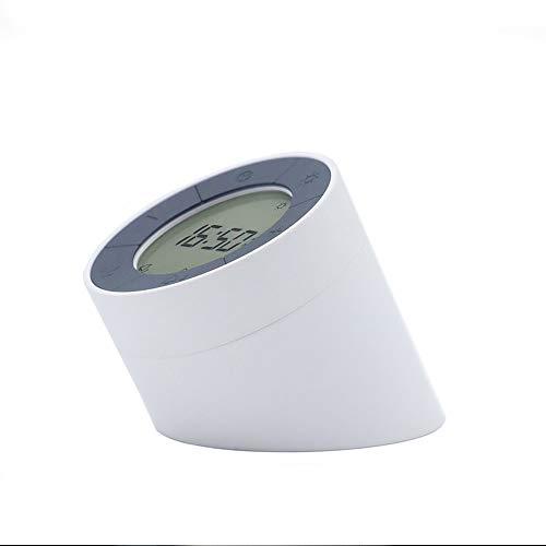 Startspagina nachtlampje, wekker, flip, creatieve lading, multifunctioneel, inductie, traploze dimmen, bedlampje wit