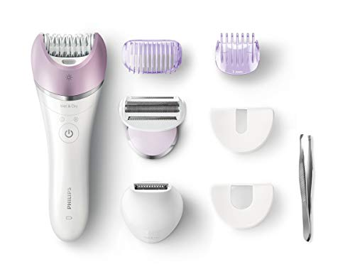 Philips Satinelle Advanced BRE631/00 Epilierer Violett, Weiß 1 Pinzette