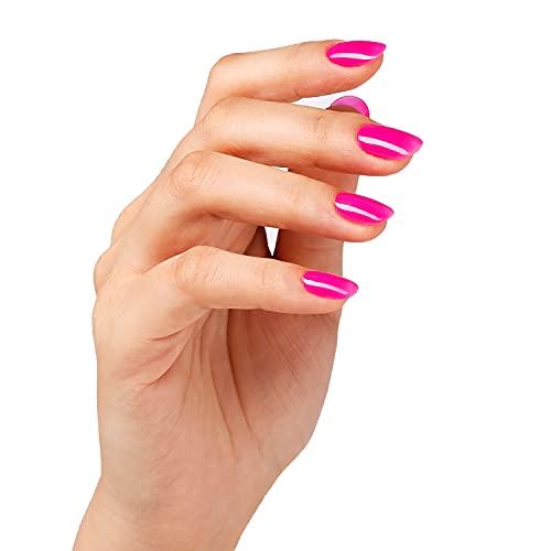 Shellac Nails por Bluesky Shellac Neon Gel Cherise 10ml