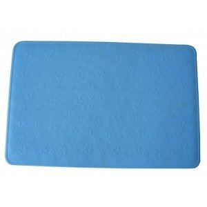 MSV Tapis de Bain Caoutchouc Bleu 35x53 cm, Carbonate de Calcium, 80 x 150 cm