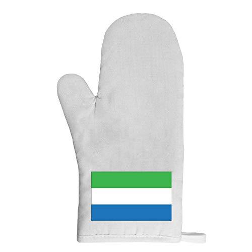 Mygoodprice Ofenhandschuh Topflappen Flagge Sierra Leone
